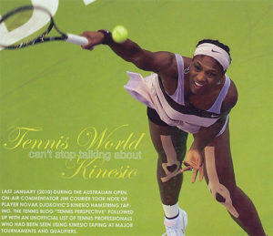 Tennis World and Kinesio