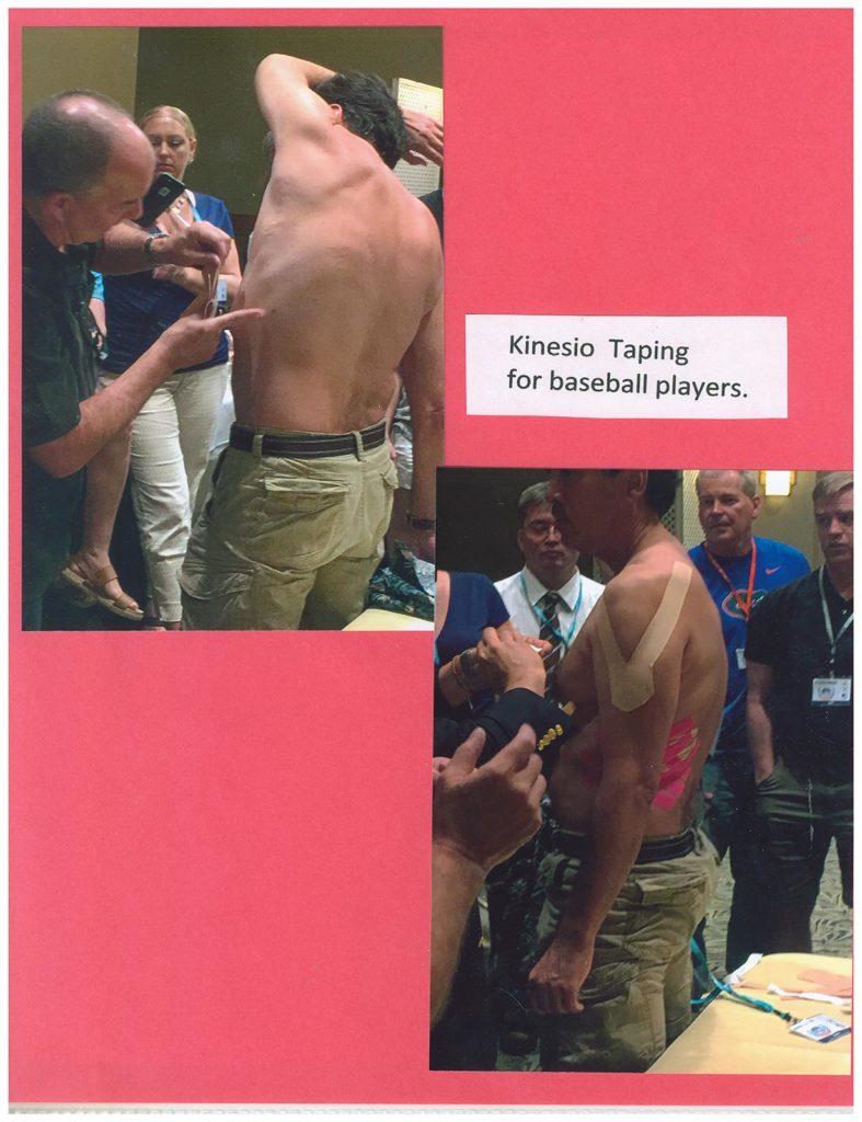 Kinesio Taping for Baseball Players